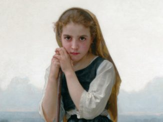 Immaginiamo Linora nel dipinto Petite bergère, by William Bouguereau